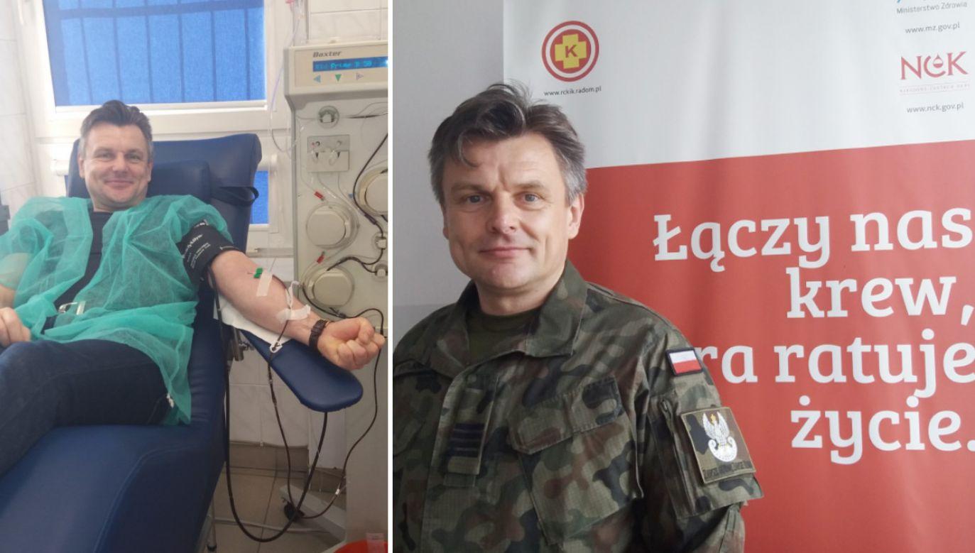 Jacek Pytlarz pochodzi z Radomia, od ponad trzydziestu pięciu lat oddaje honorowo krew (fot. Twoje Info)