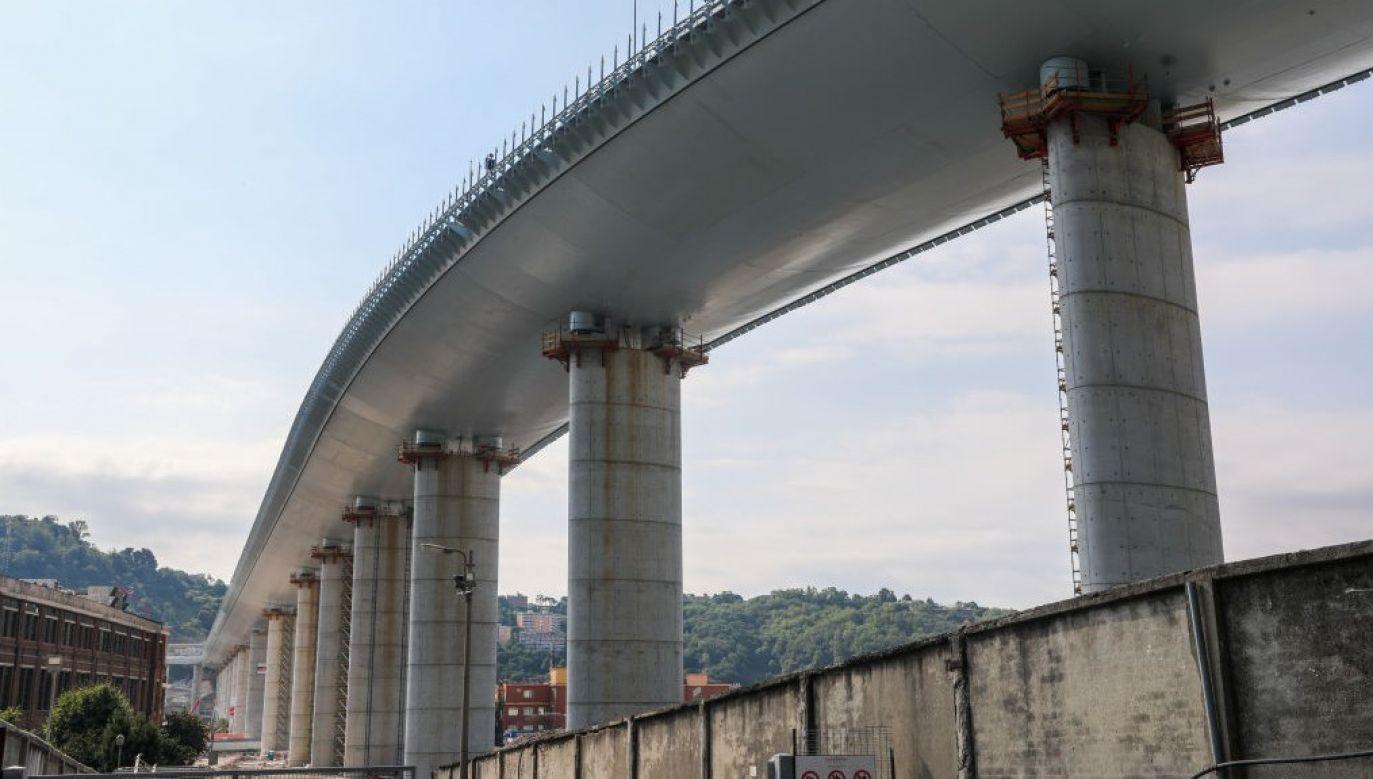 Autorem projektu mostu jest Renzo Piano (fot. Mauro Ujetto/NurPhoto via Getty Images)