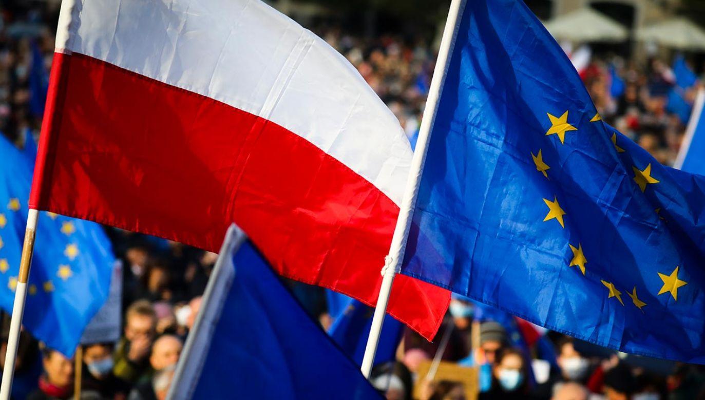 W Unii Europejskiej sprzeciw jest niedopuszczalny (fot.  Beata Zawrzel/NurPhoto via Getty Images)