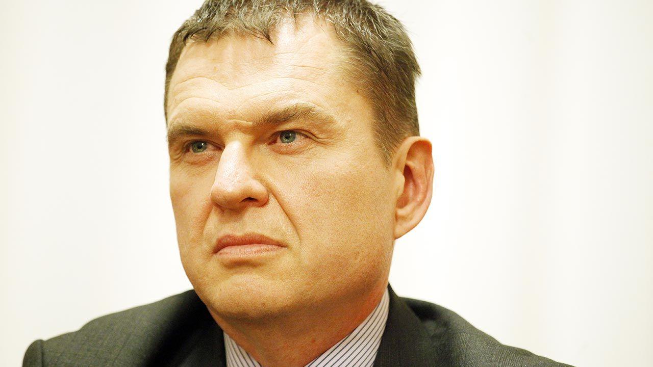 Andrzejowi Poczobutowi grozi 12 lat kolonii karnej (fot. PAP/Artur Reszko)