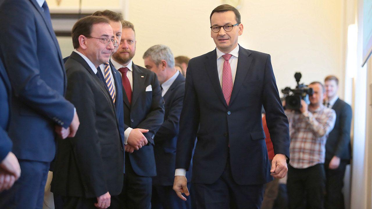 Więcej kompetencji ma trafić do Kancelarii Premiera – twierdzi portal wPolityce.pl (fot.  PAP/Leszek Szymański)