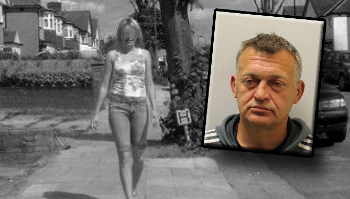 Petras Zalynas poszukiwany jest w sprawie morderstwa Joanny B. (fot. met.police.uk)