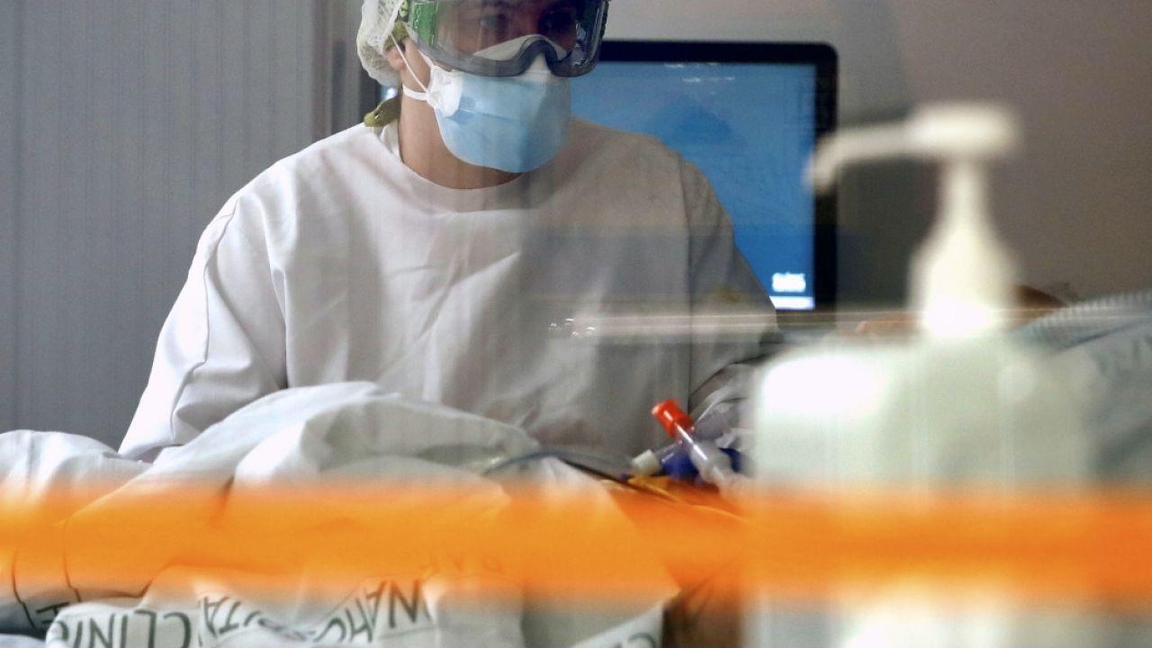 Polak przebywa w szpitalu w Wielkiej Brytanii (fot. PAP/EPA, zdjęcie ilustracyjne)