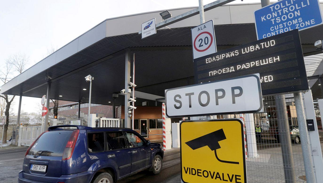 Estonia jest jedynym państwem NATO, które nie ratyfikowało granicy z Rosją (fot. REUTERS/Ints Kalnins)