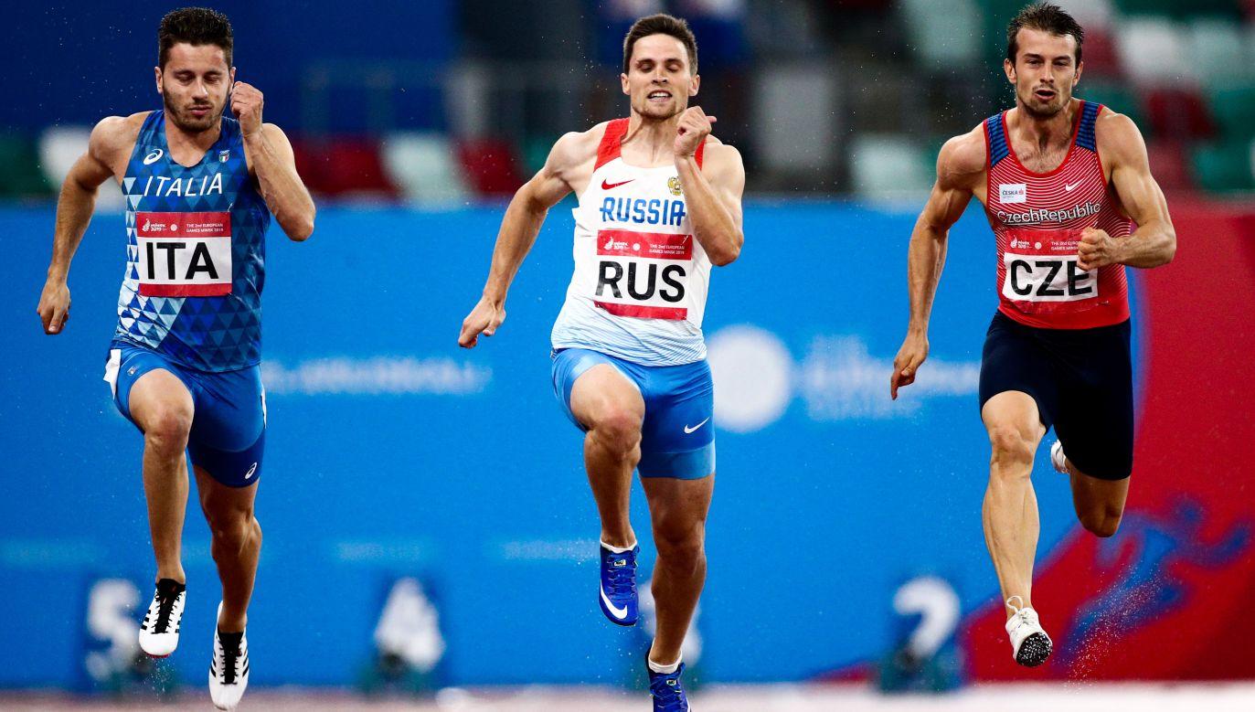 Zawieszenie federacji rosyjskiej związane jest z aferą dopingową (Fot. Sergei Bobylev\TASS via Getty Images)