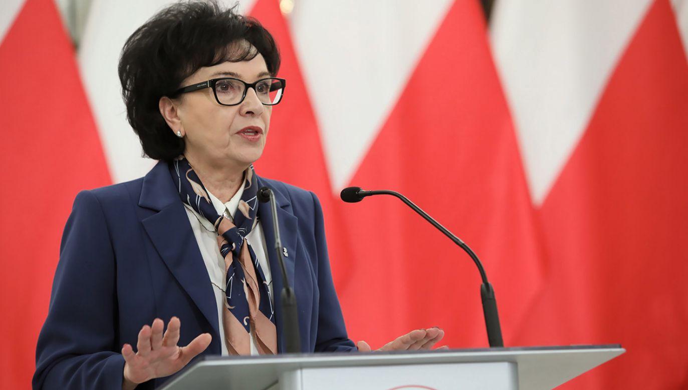 O specjalne posiedzenie Sejmu wnioskował prezydent Andrzej Duda (fot. PAP/Leszek Szymański)