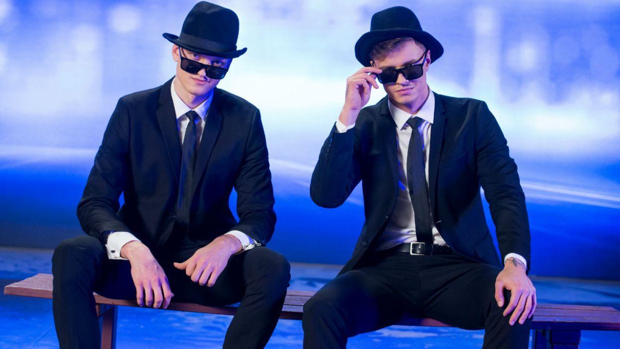 Rafał i Krzysztof Jonkisz to bracia akrobaci. Ten duet pokaże na co ich stać! (fot. TVP)