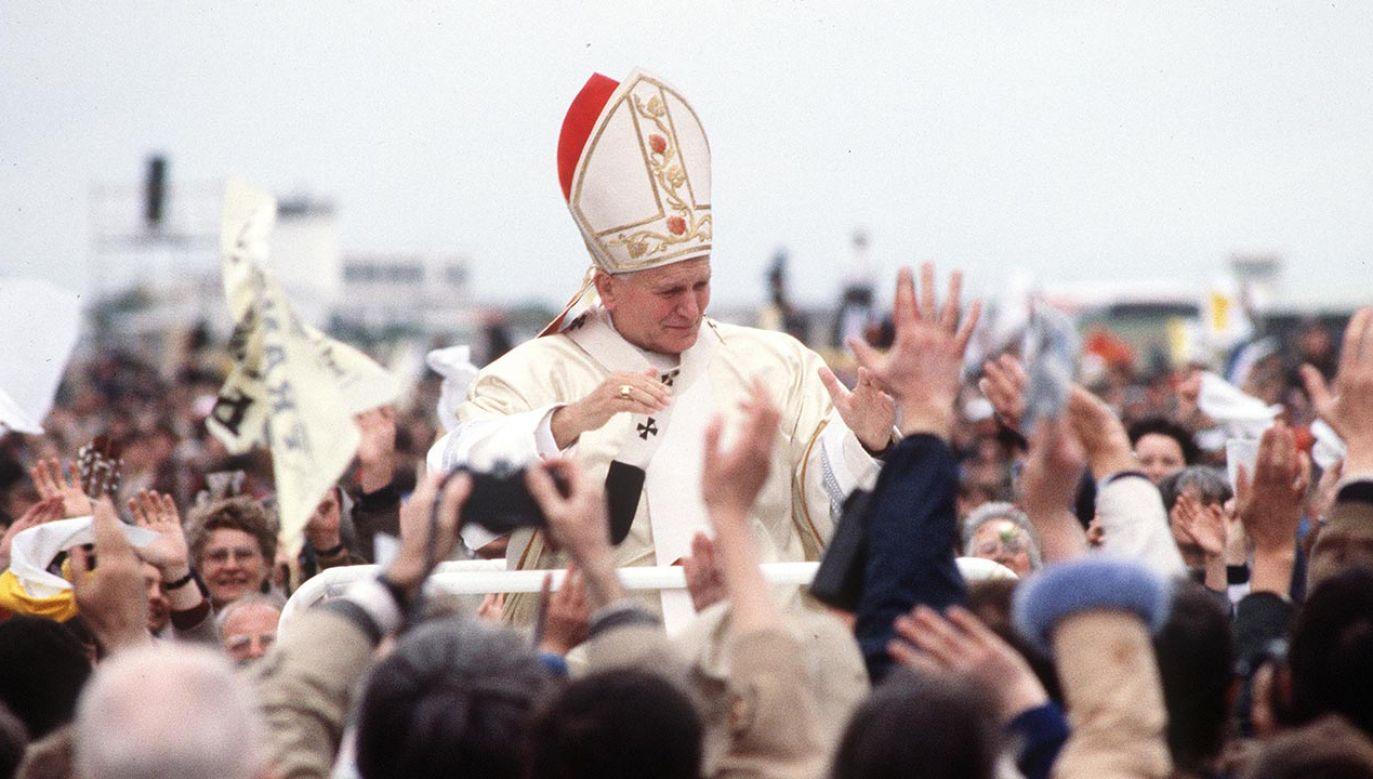 22 października przypada wspomnienie św. Jana Pawła II (fot.  Anwar Hussein/WireImage)