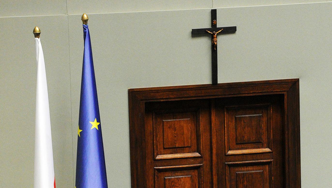 Do słów Andrzeja Szejny pozytywnie ustosunkowali się posłowie PiS i Konfederacji (fot. arch.PAP/Grzegorz Jakubowski)