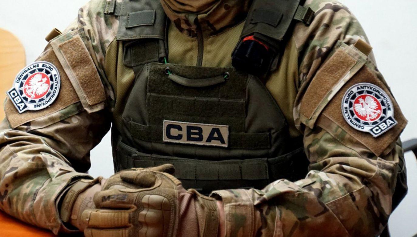 Centralne Biuro Antykorupcyjne poinformowało o zatrzymaniu w Warszawie dwóch osób uwikłanych w korupcyjny proceder (fot. CBA)