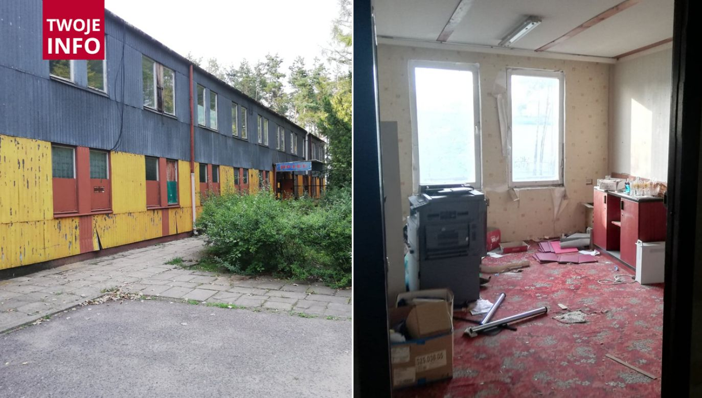 Zniknęły sejfy przechowywane w budynku na terenie stadionu Hutnik Warszawa (fot. Hutnik Warszawa)