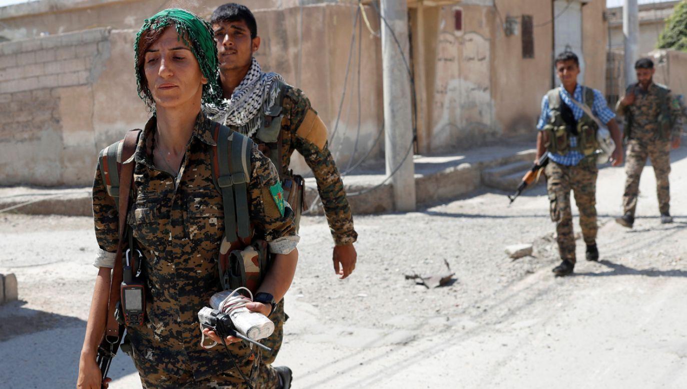 Kurdyjscy żołnierze (fot. REUTERS/Goran Tomasevic)