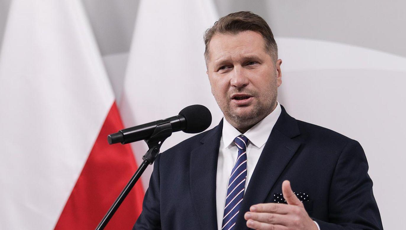 Przemysław Czarnek (fot. Forum/Andrzej Hulimka)