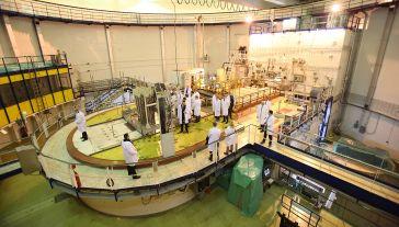 Reaktor Maria w Narodowym Centrum Badań Jądrowych w Otwocku-Świerku (fot. arch. PAP/Marcin Bielecki)