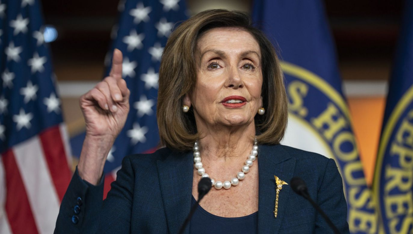 Wizyta Nancy Pelosi będzie miała charakter półprywatny.(fot. PAP/EPA/JIM LO SCALZO)