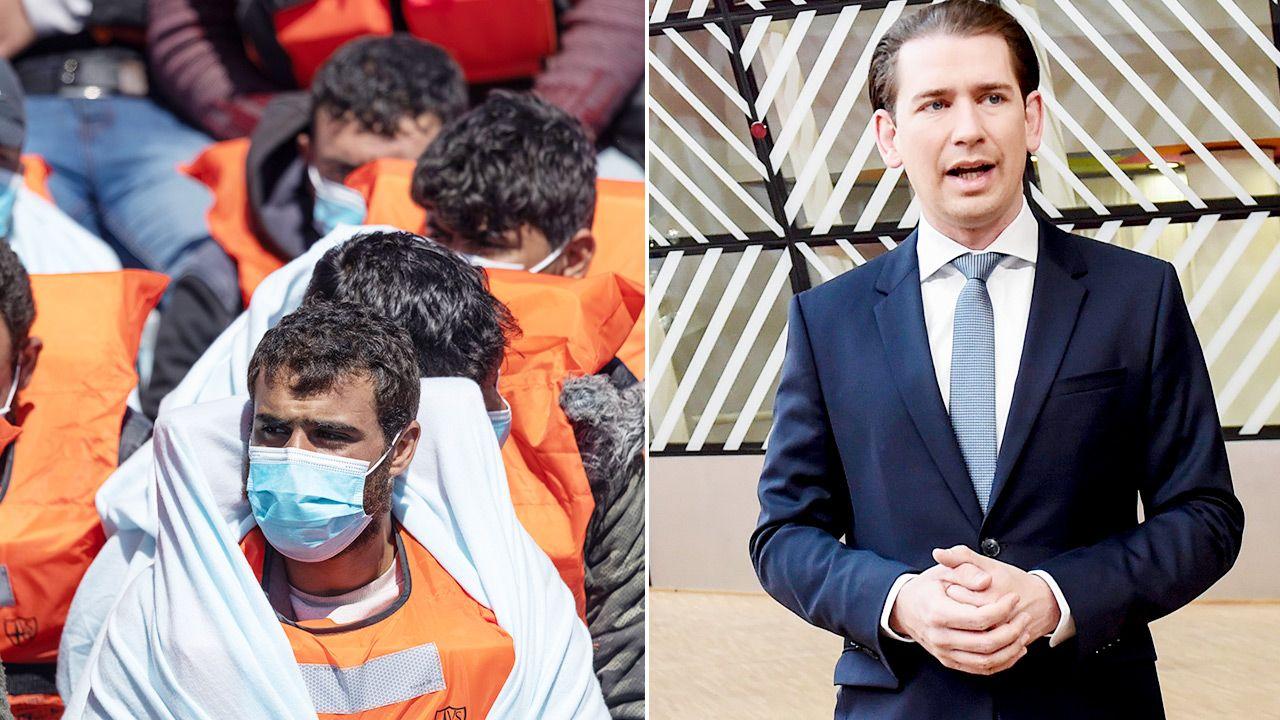Sebastian Kurz: nie chcę importować tej chorej ideologii do Europy (fot. Getty Images)