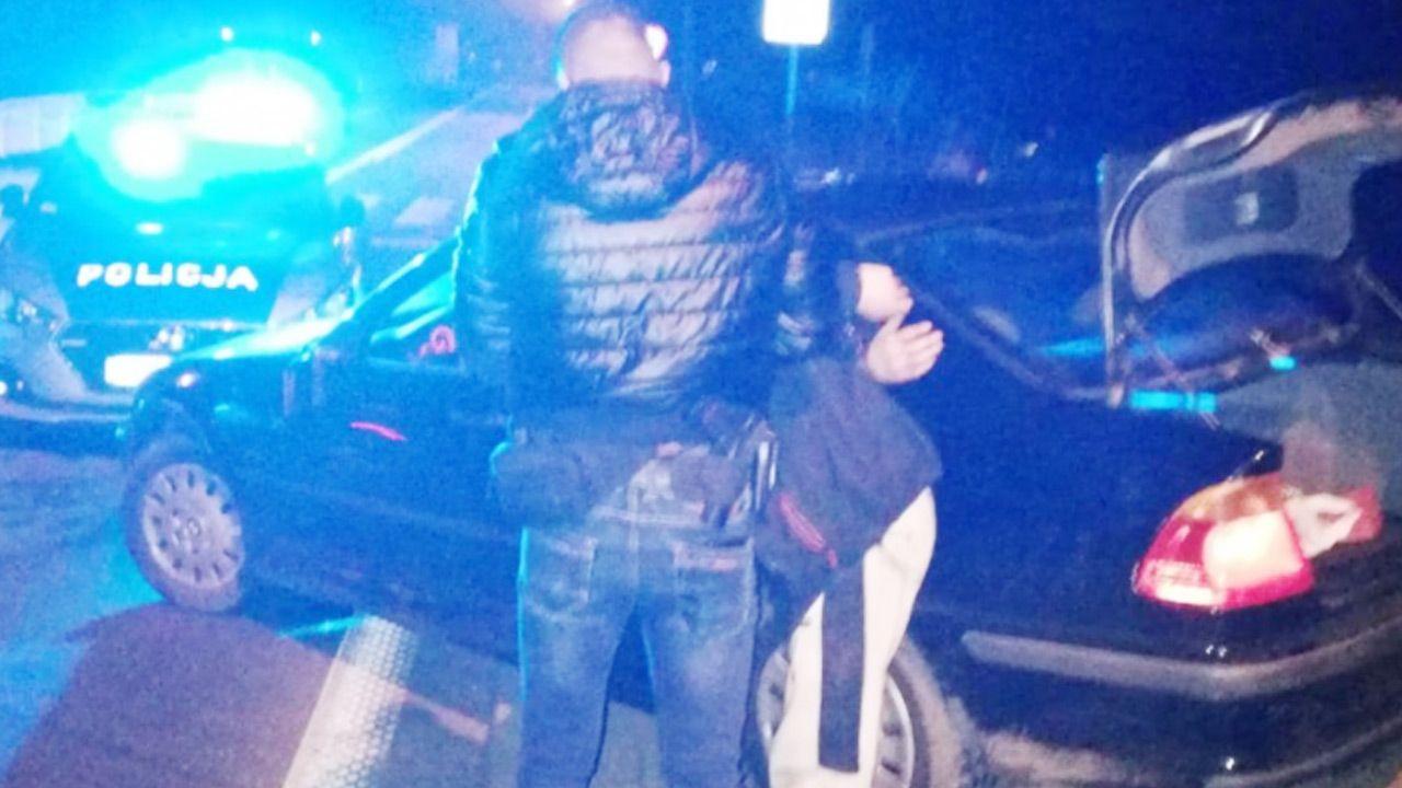 Staranował policyjne radiowozy (fot. Policja)