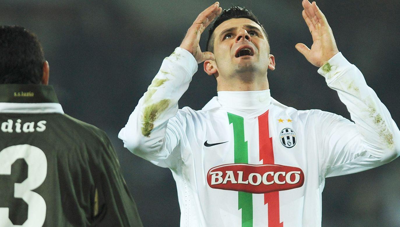 Vincenzo Iaquinta został skazany na 2 lata więzienia (fot. Valerio Pennicino/Getty Images)