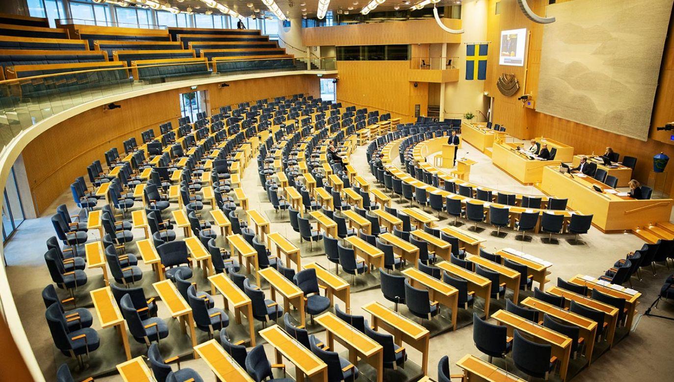 Riksdag będzie mógł odwoływać decyzje rządu (fot. Nils Petter Nilsson/Getty Images)