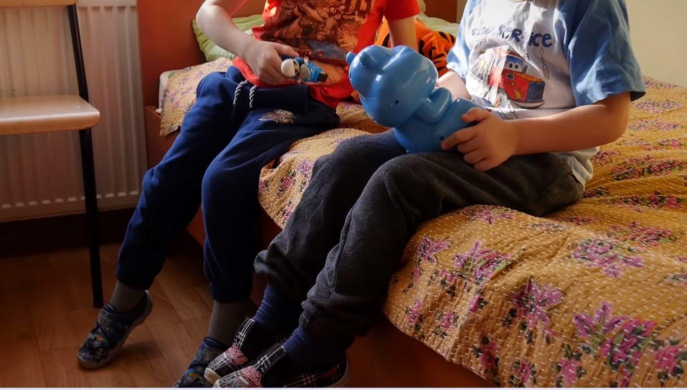 Chęć opieki wyraziło wiele rodzin, ale większość z nich nie miało statutu rodziny zastępczej (fot. YouTube/Miasto Tarnów)