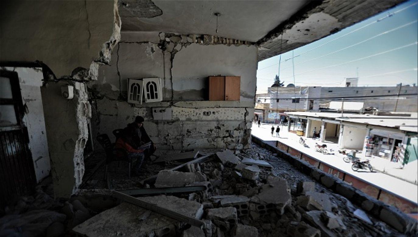 Ofiar w ludziach nie było (fot. Getty Images)