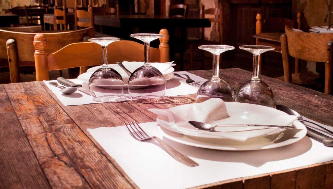 Cierpi między innymi branża gastronomiczna (fot. Pexels)