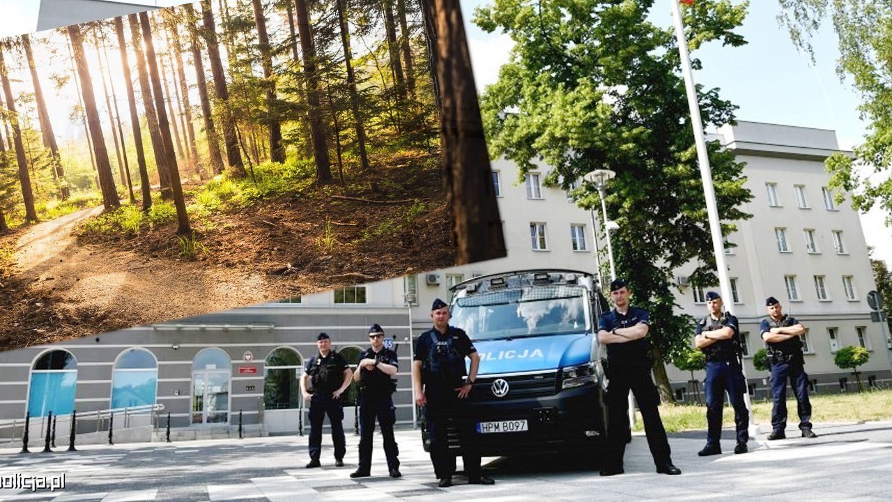Na pomoc 23-letniej kobiecie pospieszyli policjanci.(fot. Shutterstock; Policja)