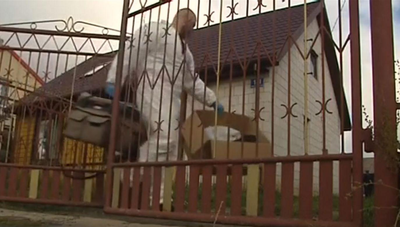 Wiadomo, że w domu, w którym doszło do zbrodni, często odbywały się libacje alkoholowe (fot. TVP3 Kielce)