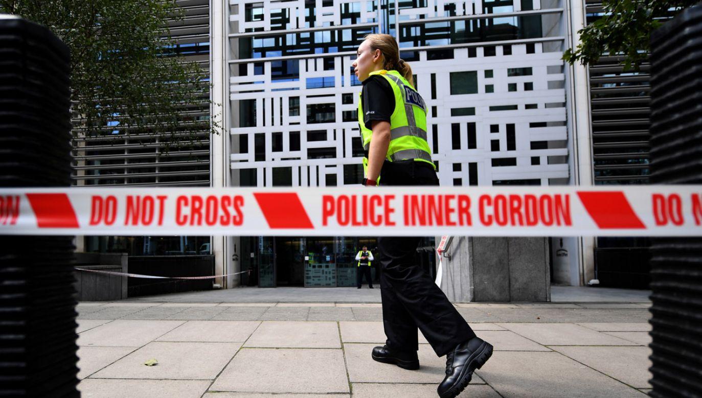 Służby sprawdzają czy incydent miał podłoże terrorystyczne (fot. PAP/EPA/ANDY RAIN)