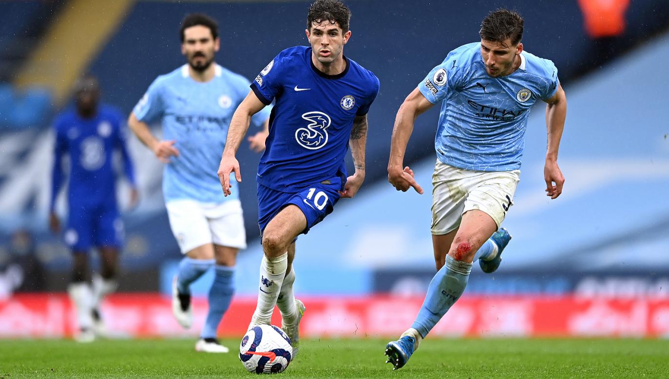W finale Ligi Mistrzów Manchester City zmierzy się z Chelsea (fot. Getty)