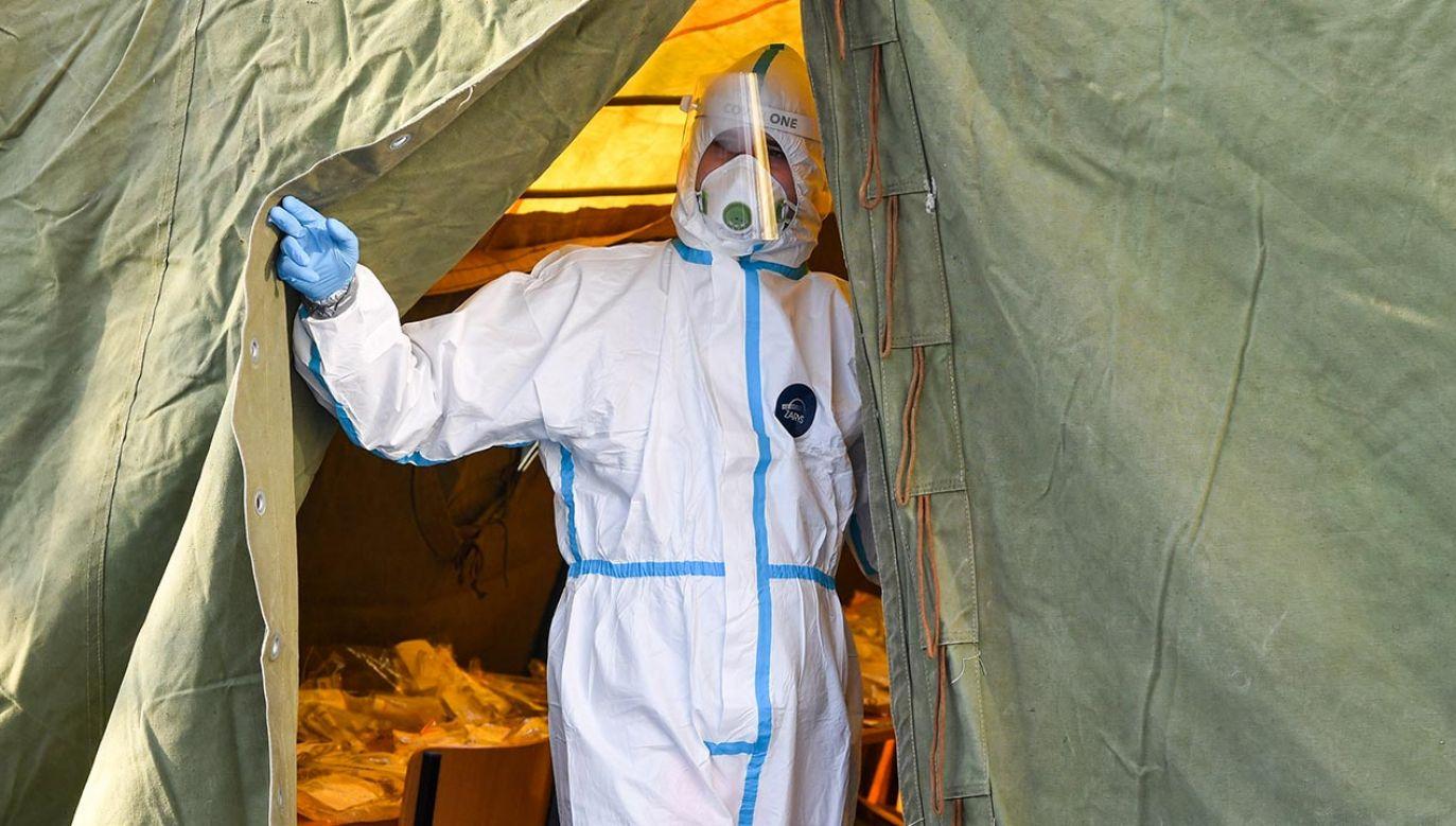 Szefernaker odpiera zarzuty samorządowców  o  chaos w dobie pandemii (fot. Alex Bona/SOPA Images/LightRocket via Getty Images)