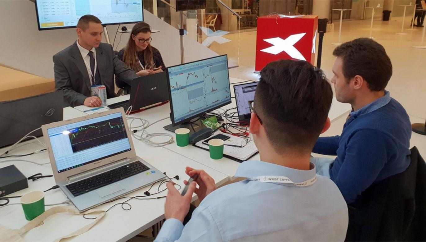 KNF nałożyła na XTB karę pieniężną w wysokości aż 9,9 mln zł (fot. TT/XTB Polska)