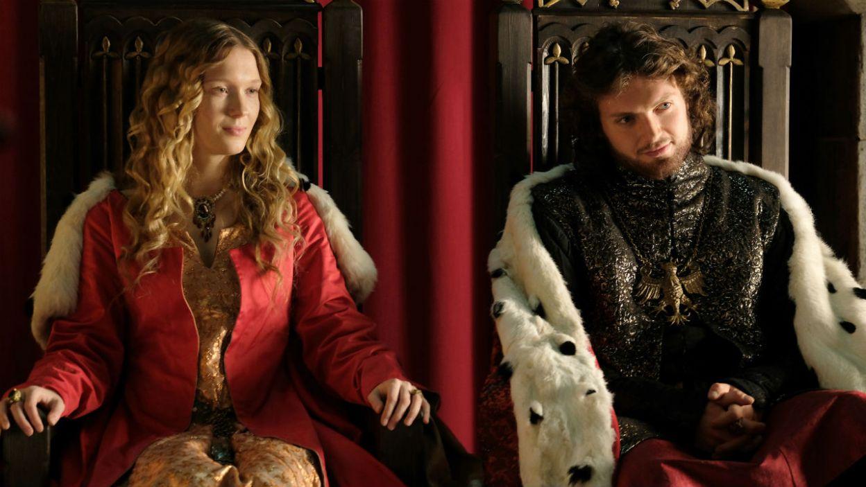 Pierwszą żoną Kazimierza została Aldona,  córka wielkiego księcia Litwy Giedymina (fot. TVP)