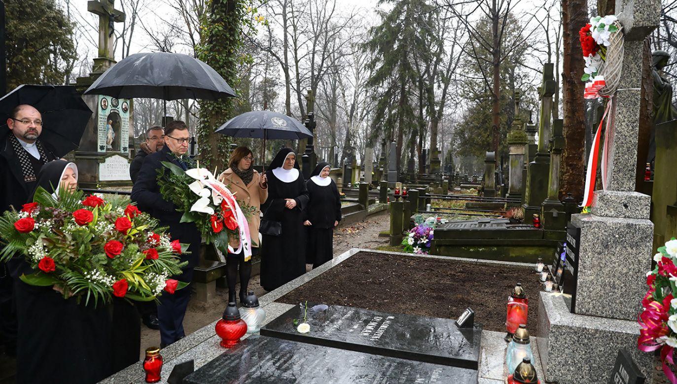 Sprawiedliwa wśród Narodów Świata Matka Matylda Getter została uhonorowana przez IPN (fot. PAP/Rafał Guz)