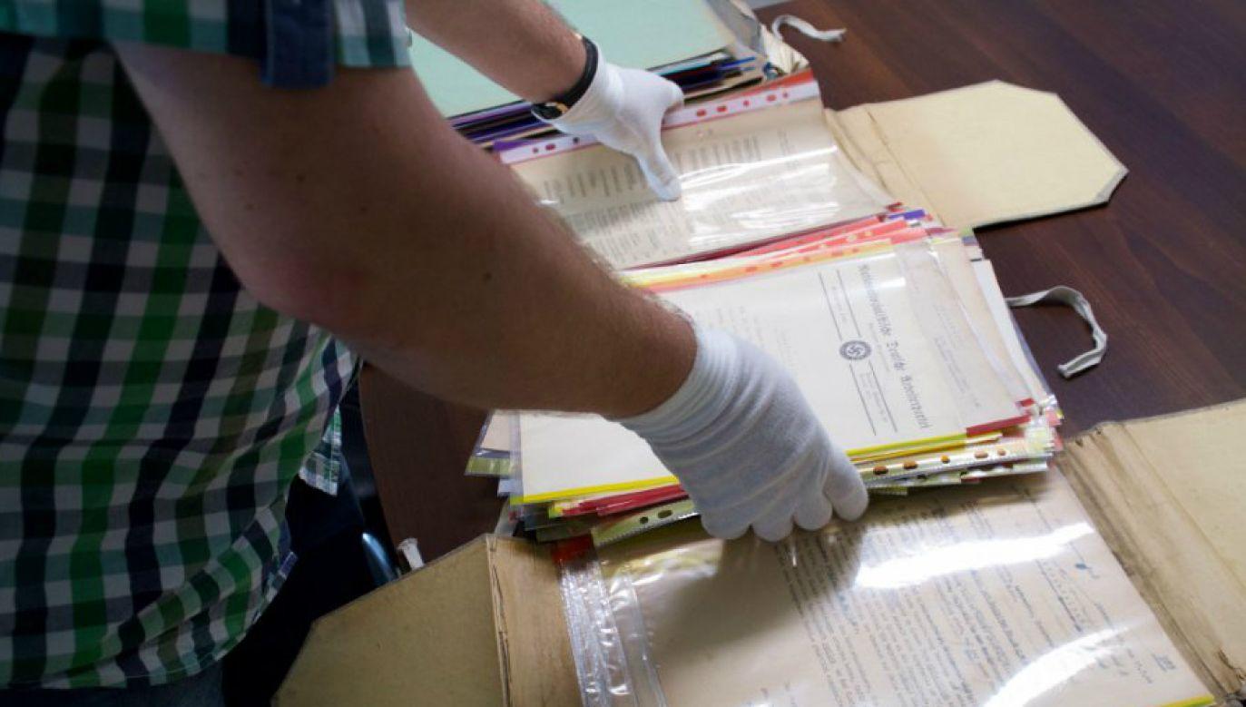Jeden z dokumentów odzyskanych przez policję (fot. KSP)