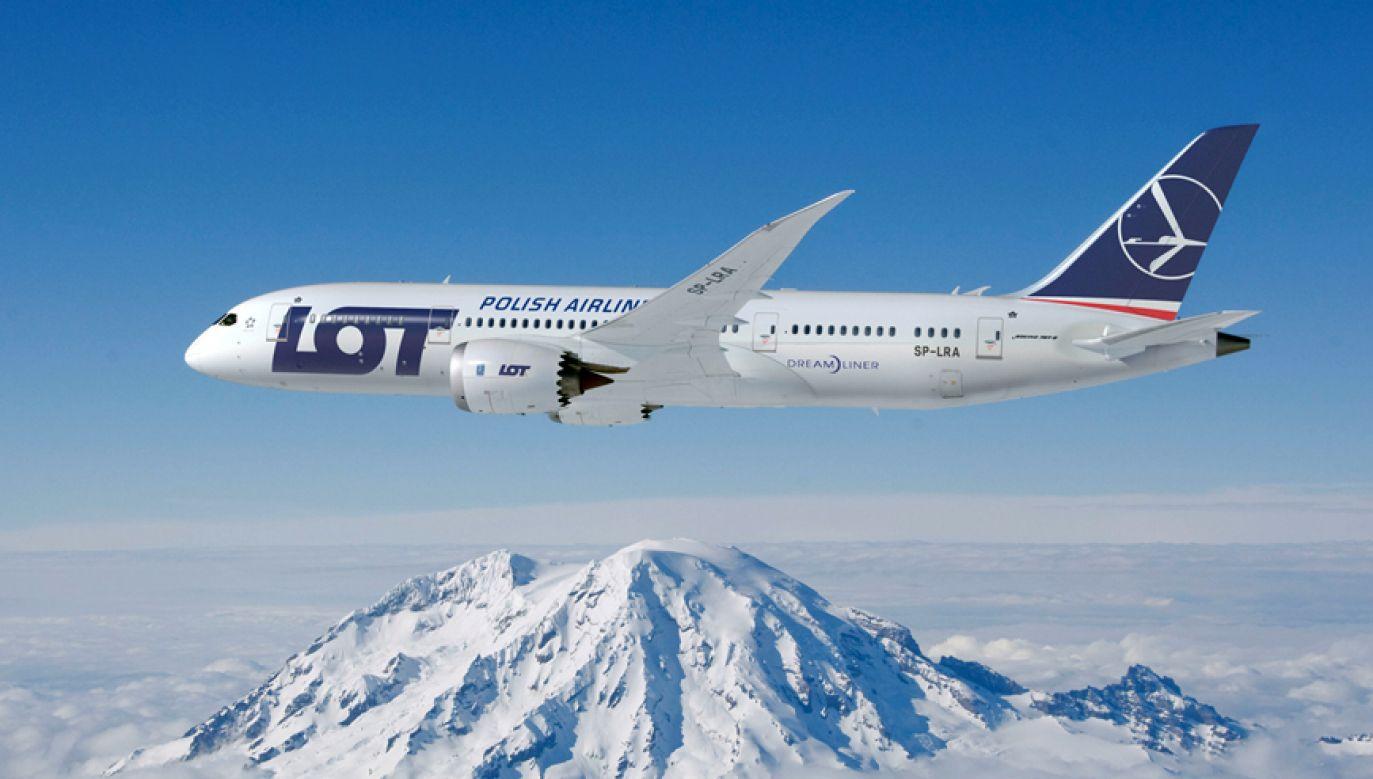 Lot na trasie Warszawa-San Francisco ma trwać ok. 12 godzin (fot. LOT)