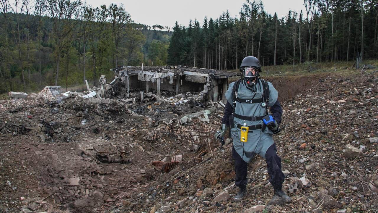 W zamachu w Vrbieticach zginęły dwie osoby (fot. PAP/EPA/CZECH REPUBLIC POLICE / HANDOUT0
