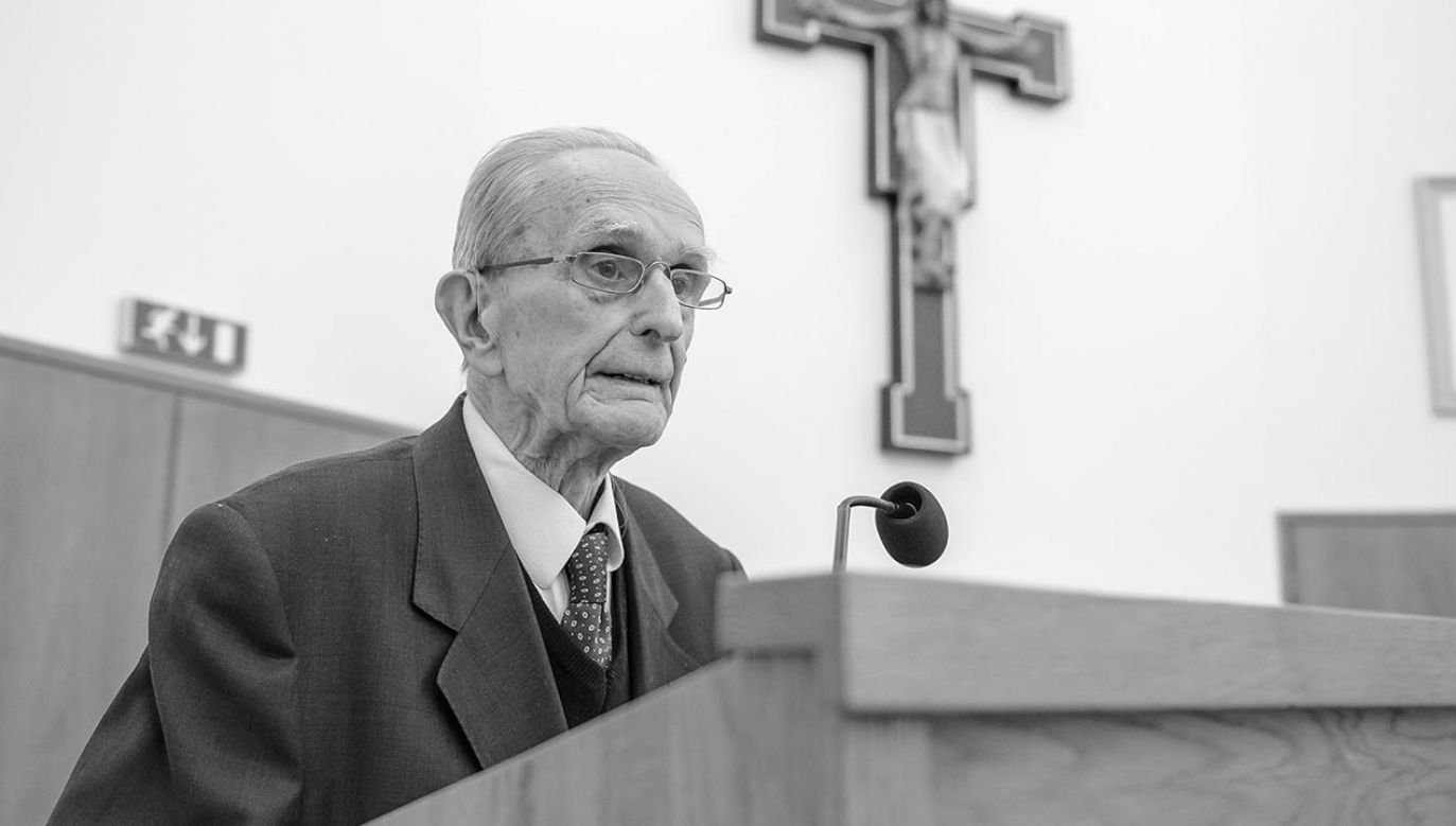 Andrzej Półtawski współpracował z Janem Pawłem II (fot. PAP/Wojciech Pacewicz)