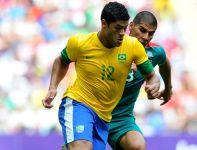 Hulk rozpoczął mecz na ławce, ale to właśnie on zdobył honorową bramkę dla Brazylii (fot. Getty Images)