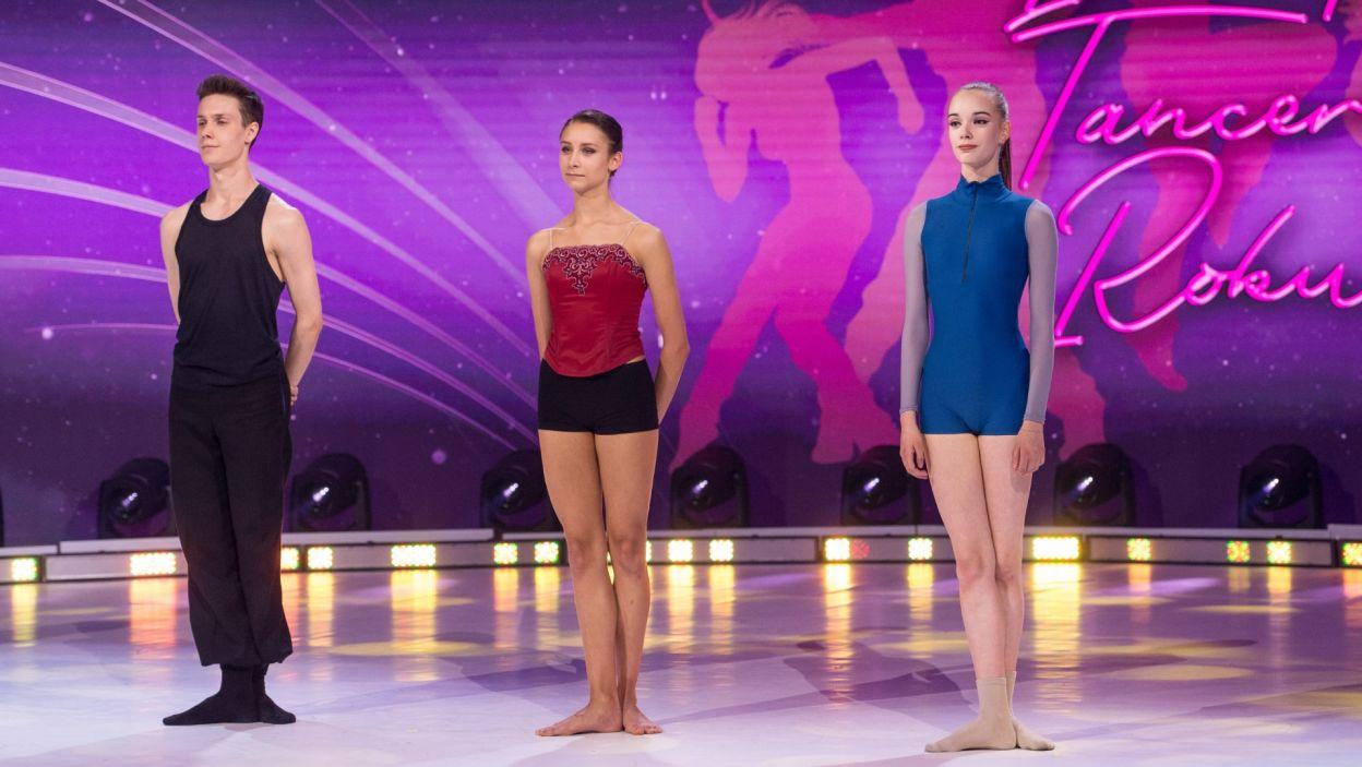 W najlepszej trójce znaleźli się (od lewej): Artem Rybalchenko, Julia Bielska i Anna Smatchenko (fot. Jan Bogacz)