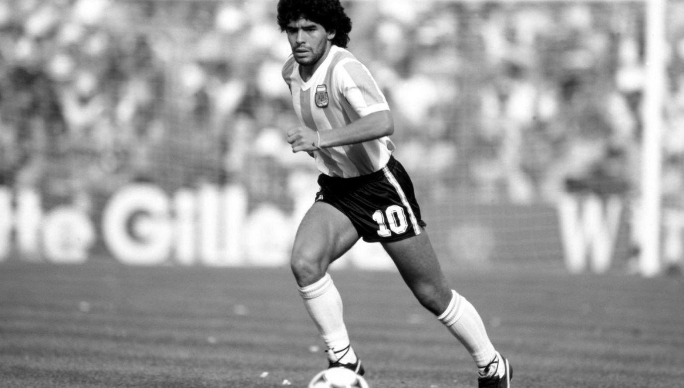 Diego Maradona (fot. Getty Images)