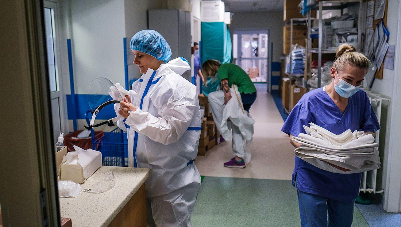 Nowe dane o zakażeniach koronawirusem w Polsce (fot. Omar Marques/Getty Images)