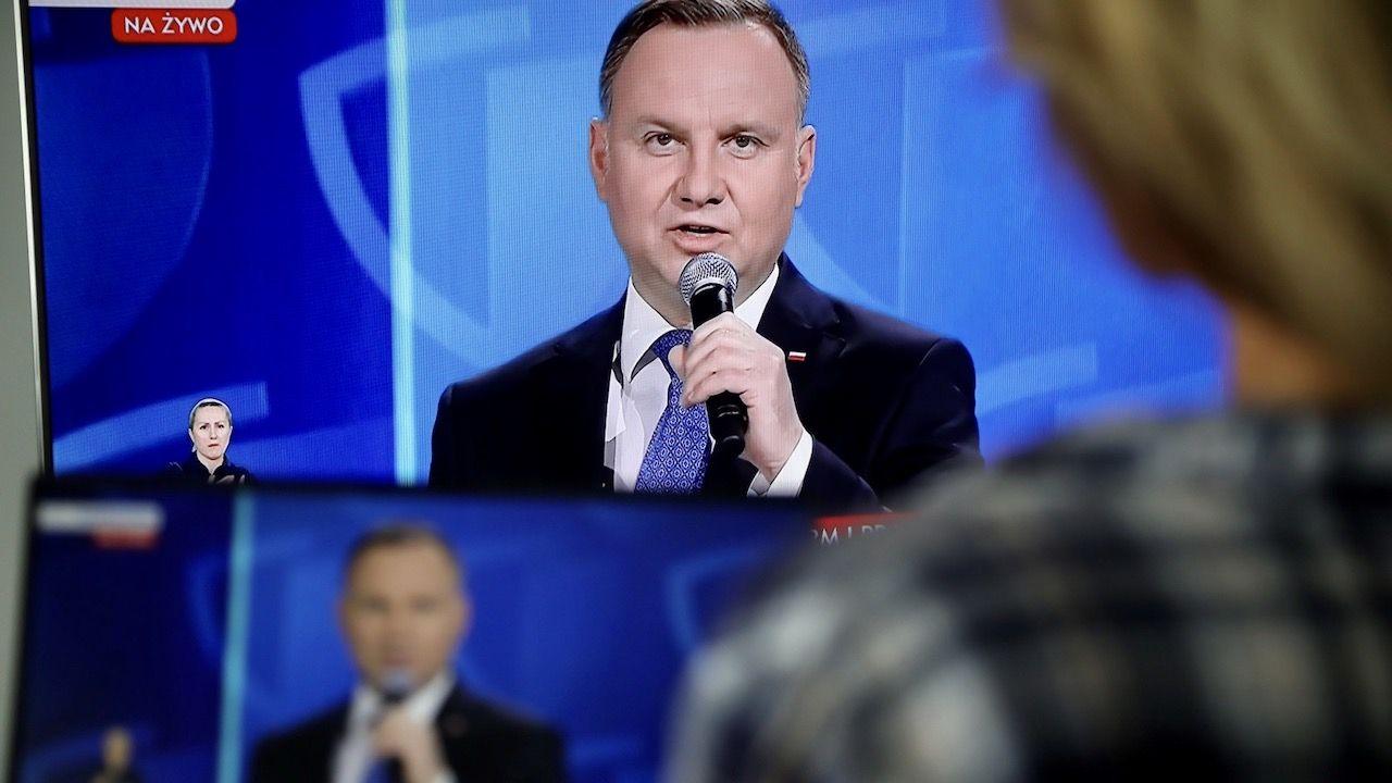 W drugiej turze spotkają się Andrzej Duda i Rafał Trzaskowski – wynika z najnowszego sondażu (fot. PAP/Wojciech Olkuśnik)