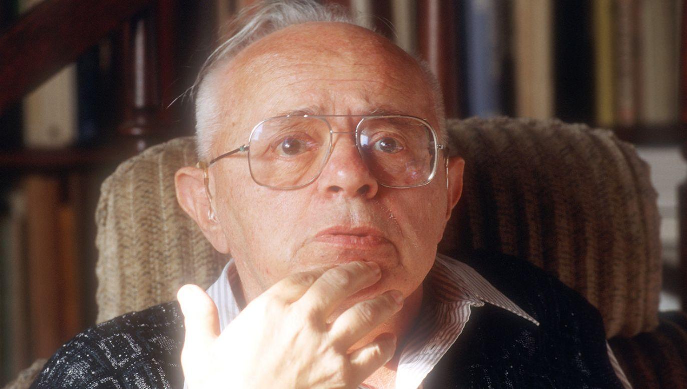 Stanisław Lem był najczęściej tłumaczonym polskim pisarzem (fot. Forum/ Krzysztof Wojcik)
