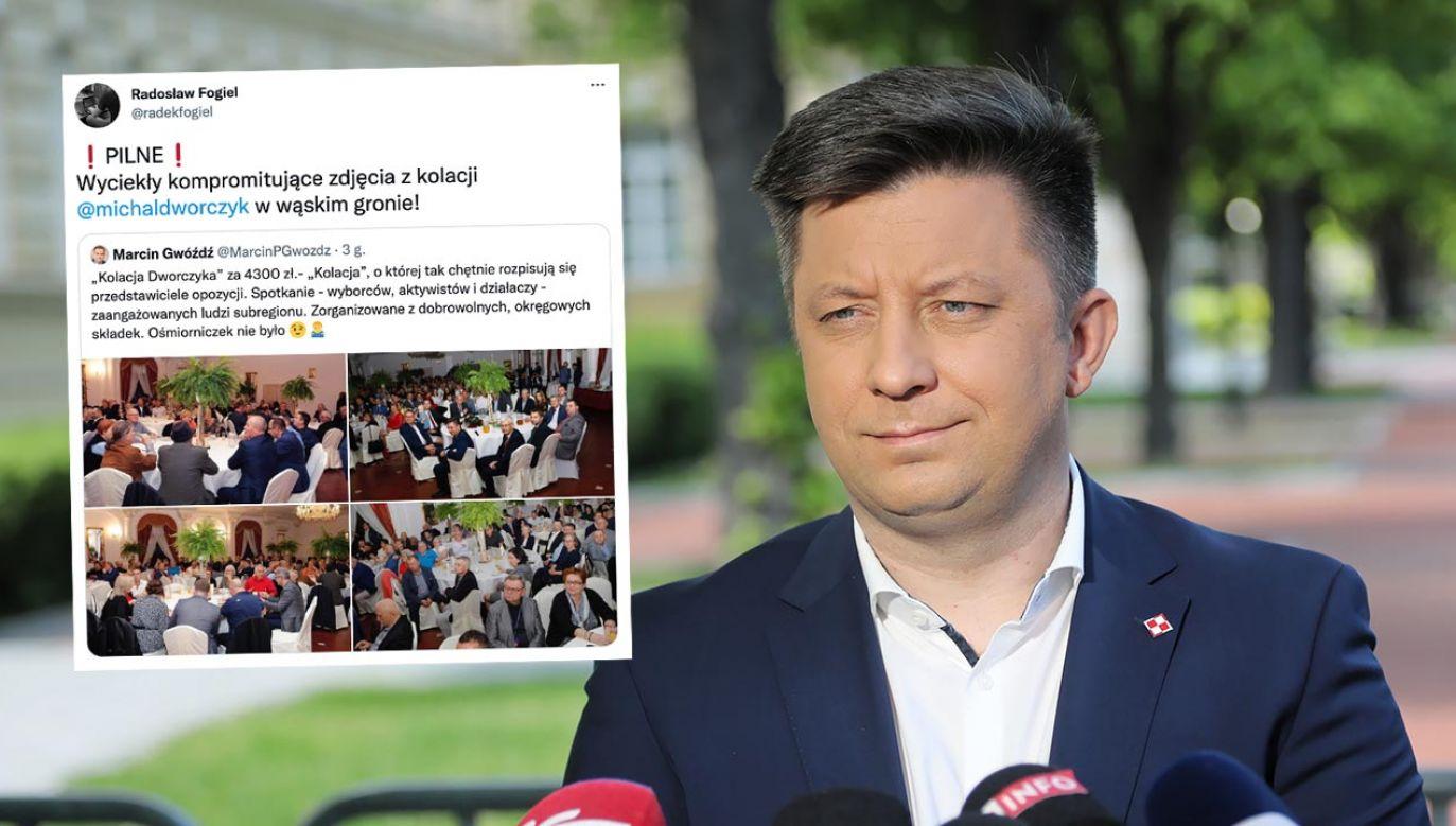 """Prawda o """"kolacji Dworczyka"""" okazała się prozaiczna (fot. PAP/Wojciech Olkuśnik)"""