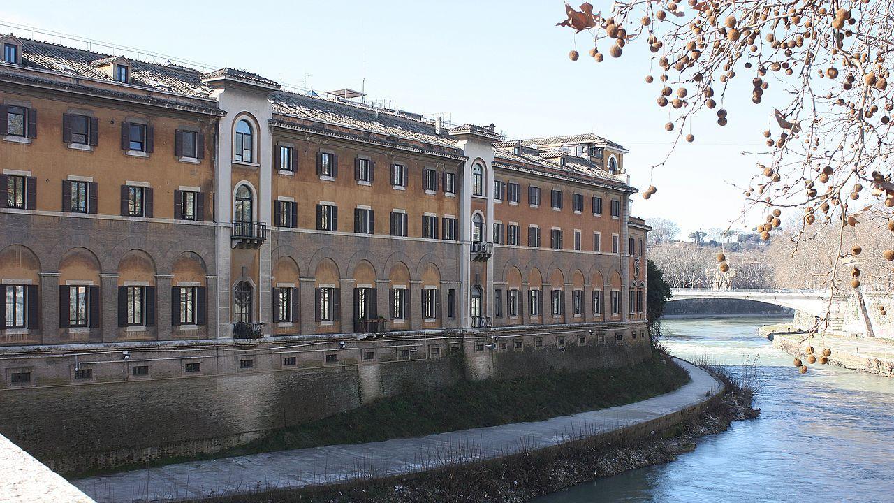 Rzymski szpital Fatebenefratelli  (fot. Wikimedia Commons/Dguendel)