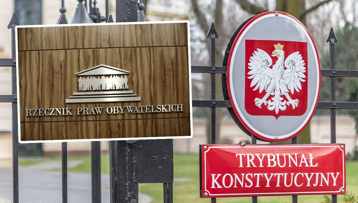 Wyrok TK ws. kadencji RPO (fot. Shutterstock/Grzegorz Czapski; Forum/Krzysztof Zuczkowski)
