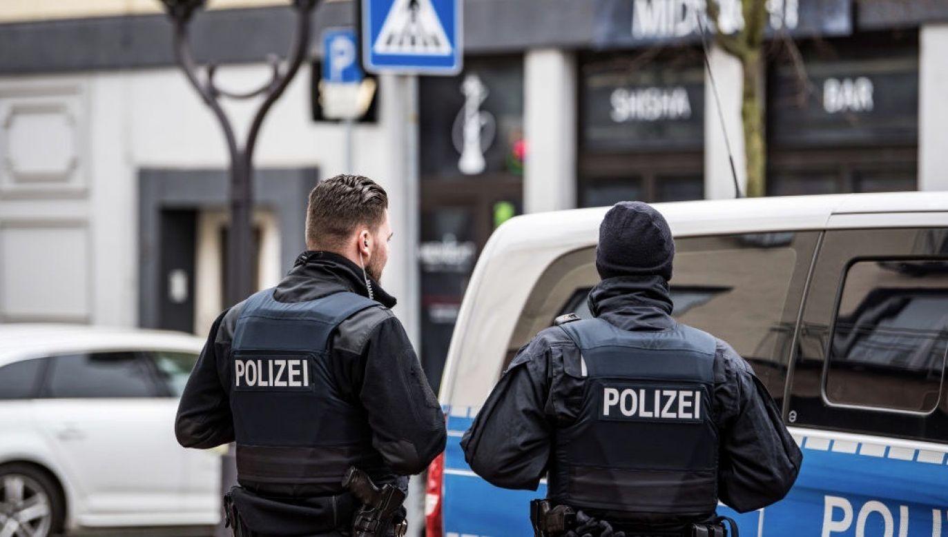 Niemieckie organy bezpieczeństwa w roku 2019 zarejestrowały ogólnie ponad 41 tys. przypadków przestępstw motywowanych politycznie (fot. Lukas Schulze/Getty Images)