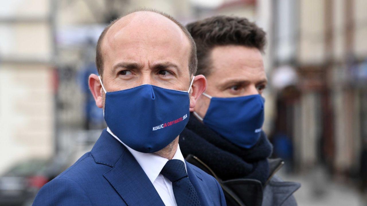 Borys Budka i Rafał Trzaskowski. To koniec ich współpracy w Platformie Obywatelskiej? (fot. PAP/Darek Delmanowicz)