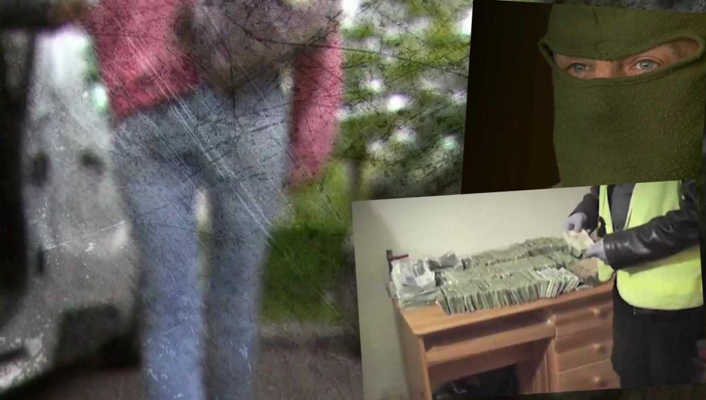 Policjanci nie zdołali ustalić, co się stało z Eweliną Bałdygą (fot. TVP1)